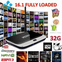 32GB Smart 16.1 Fully Loaded WIFI 1080P HDMI Media Quad Core Android 5.1 TV BOX