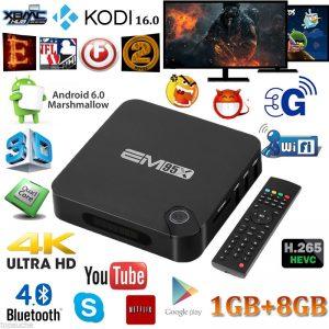 Android 6.0 S905X Smart TV BOX 4K Quad Core XBMC KODI 16.0 Fully Loaded