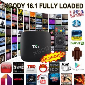 Quad Core MXQ Smart TV BOX Latest 16.1 Fully Loaded Android