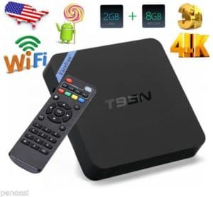 T95N Android 6.0 Quad Core 2GB 8GB WIFI 4K HD 1080P 3D Fully Loaded TV BOX