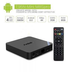 T95N Mini M8S Pro IPTV S905X Quad Core Android 6.0 Smart TV Box