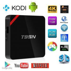 T95N Mini MX+ 4K S905 2.0GHz Quad Core Android 5.1 Smart TV Box