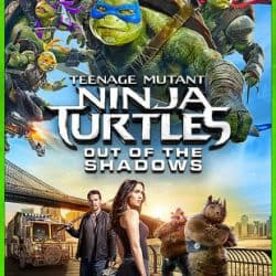 Teenage Mutant Ninja Turtles: Out Of The Shadows HD Rental $0.99 cents