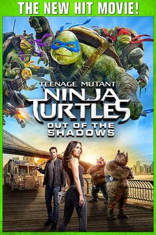 Teenage Mutant Ninja Turtles: Out Of The Shadows HD Rental $0.99 cents