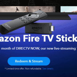 Get a Free Fire TV Stick with DirecTV Now Purchase +