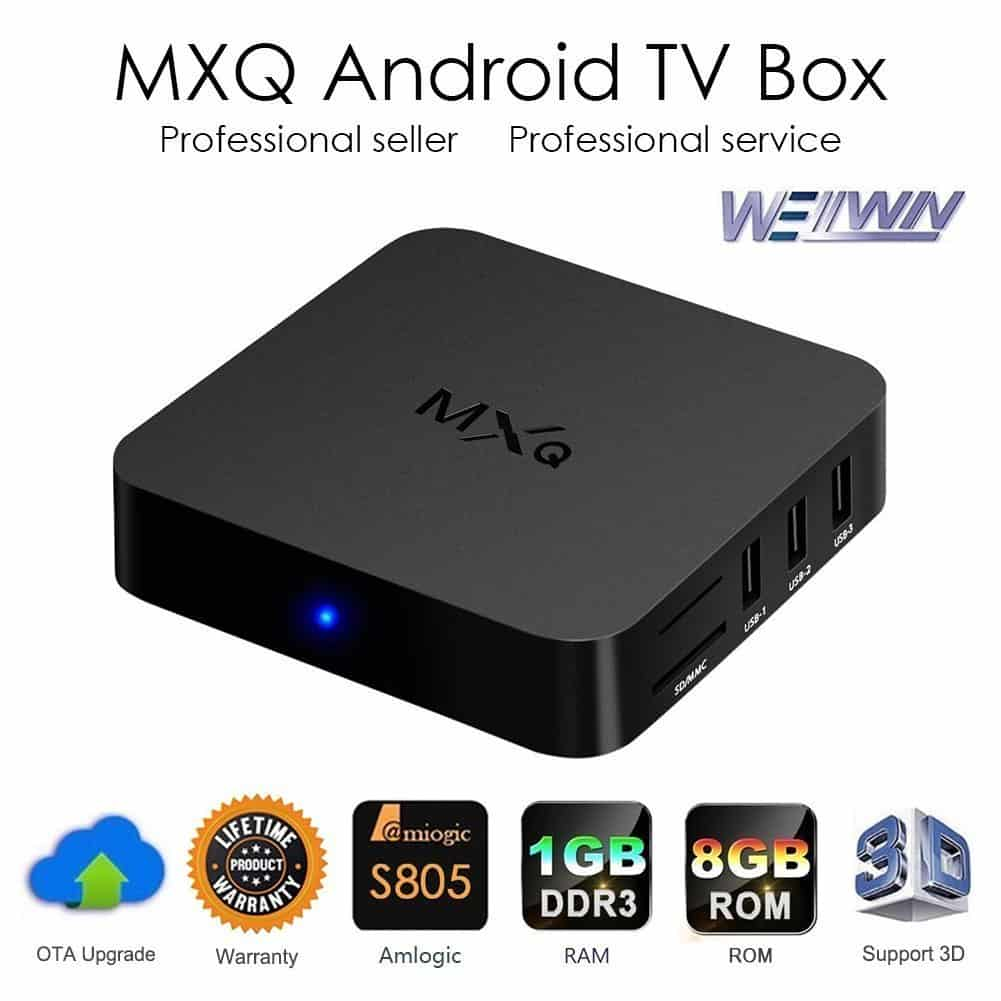 MXQ Android TV Box Review