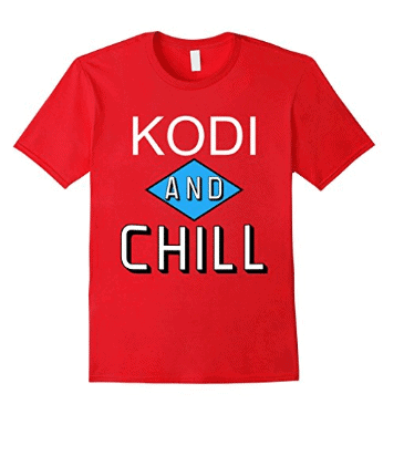 Kodi and Chill Parody T-Shirt